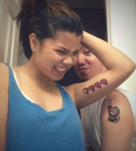 gueeky couples tattoos