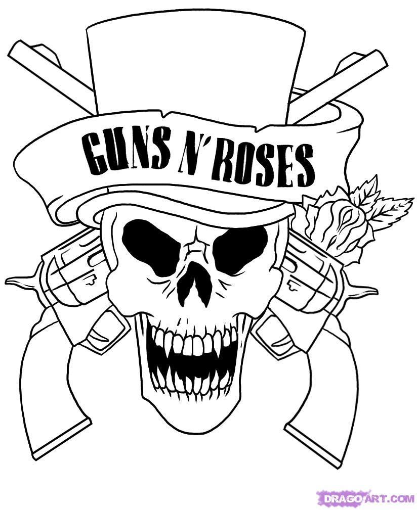 Tattoo Gun Logos Guns And Roses Logo as Tattoo