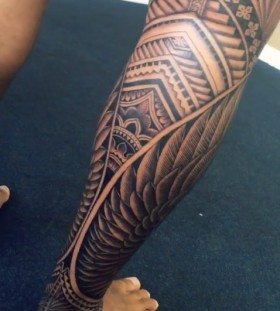 half leg sleeve tattoos for men