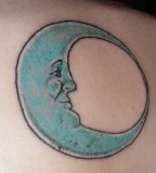 Good Half Moon Tattoo Ink Style From Katrina Huff
