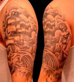 Best and Cool Half Sleeve Tattoo for Men