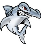 Creative Cute Hammerhead Shark Tattoo Image