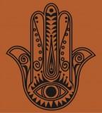 Hamsa Hand Tattoo Symbol