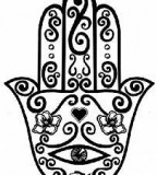 The Evil Eye Hamsa Hand Tattoo