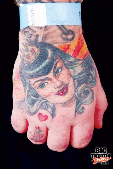 Splendid Hannah Aitchison Tattoo Pictures