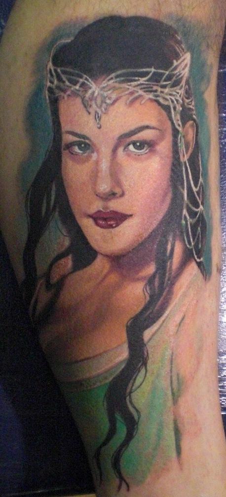 Glamorous Arwen Tattoo Ideas by Hannah Aitchison