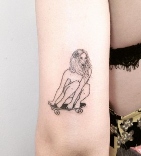 hanpoked-cali-babe-tattoo-by-taticompton