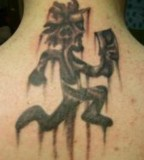 Faded Hatchetman Tattoo Picture