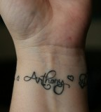 Cool Wrist Tattoos With Names