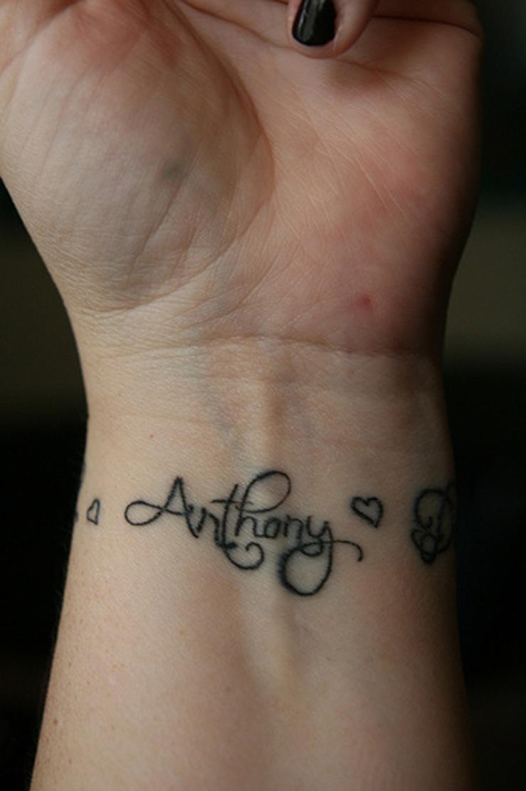 bbe0ca633 Cool Wrist Tattoos With Names -   TattooMagz › Tattoo Designs / Ink ...