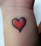 Falling In Love With Heart Tattoos