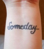 Small Cute Someday  Wrist Tattoos For Girls Sizzling Concepts
