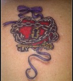 Remarkable Heart with Chains Tattoo Design Ideas