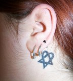 Small Yet Cute Heartagram Tattoo By Maliciousmischief