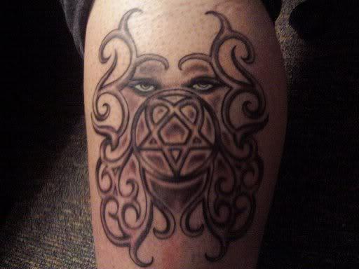 Amazing Heartagram Tattoo Wl Picture By Deepshadowsdarklight