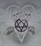 Himheartagram Tattoo By Iloveink666