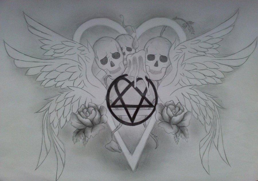 Himheartagram Tattoo By Iloveink666