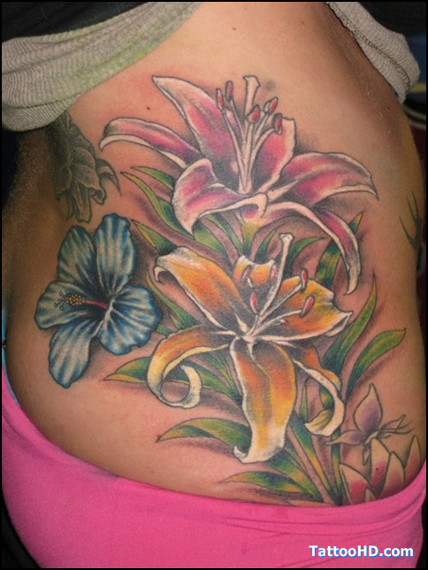 Flower Hibiscus Tattoos Meaning