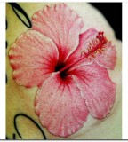 3D Tattoos Designs Hibiscus Flower Tattoo