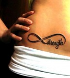 Amazing Hip Tattoo Design for Women