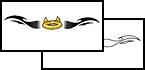Horn and Halos Tattoo Design Ideas
