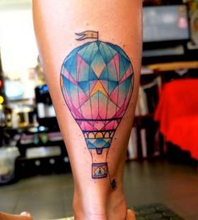 hot-air-balloon-tattoo-by-dusty-brasseur
