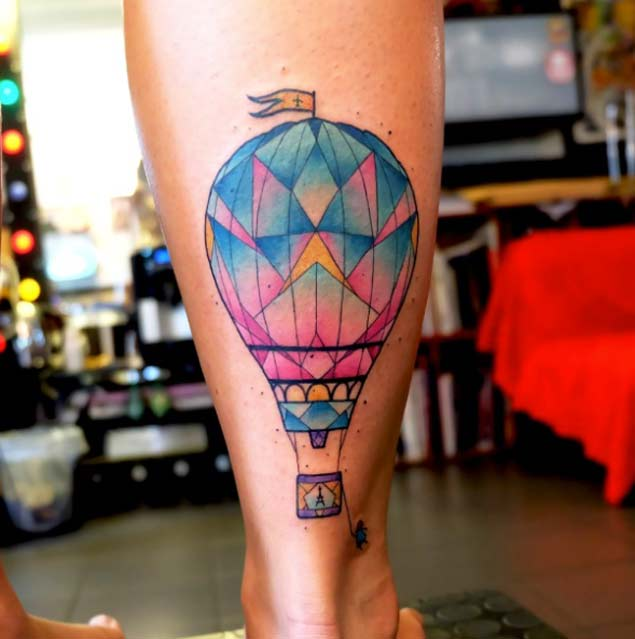 hot-air-balloon-tattoo-by-dusty-brasseur