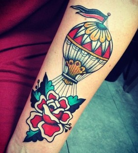 hot-air-balloon-tattoo-by-javier-rodriguez