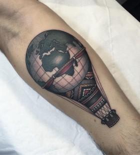 hot-air-balloon-tattoo-by-jean-ler-roux