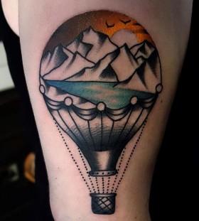 hot-air-balloon-tattoo-by-mors