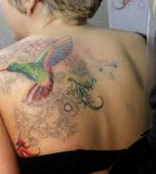 Beautiful Hummingbird Tattoo Designs For Women