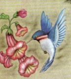 Cool Blue Hummingbird Tattoo Design Ideas