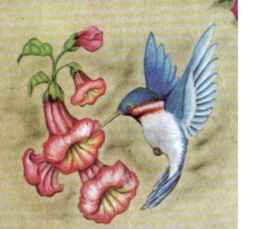 Cool Blue Hummingbird Tattoo Design Ideas