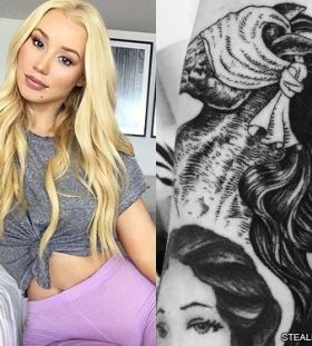 iggy-azalea-blindfolded-horse-arm-tattoo-500x375