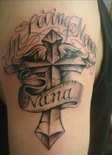 In Loving Memory Ace Tattoo Design Picture