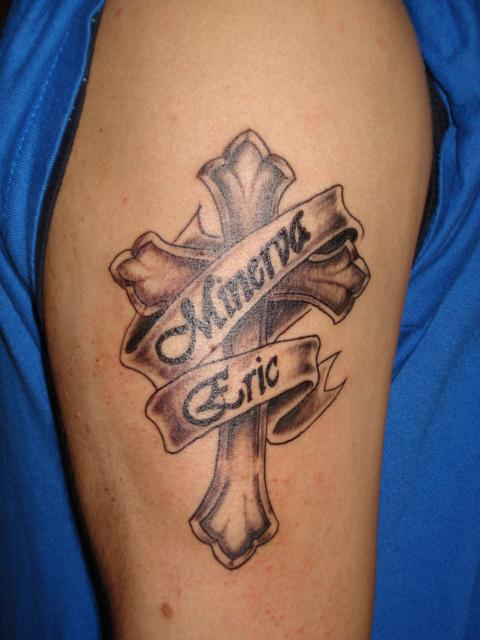 In Loving Memory for Eric Cross Tattoo Design Picture