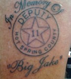 Roberts New Tattoo In Loving Memory Of Jake
