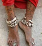 Indian Tattoos in Leg Body Art In India