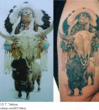 American Indian Tattoo Picture