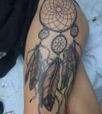 Tatto Design Of Dreamcatcher Tattoos