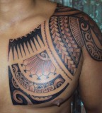Awesome Tattoo On Chest for Man