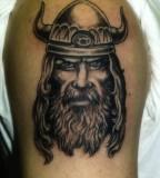 Viking Biceps Tattoos For Men