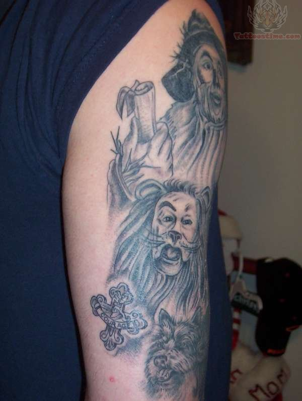 26737ce0e Wizard Tattoos On Biceps For Men -   TattooMagz › Tattoo Designs ...