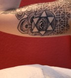 Celtic Inner Arm Tattoo Design for Men