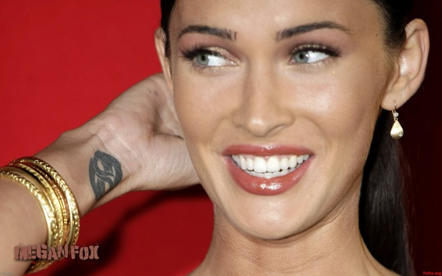 Megan Fox Arm Tattoo