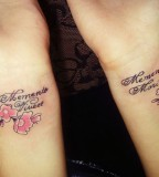 Exciting Inner Wrist Tattoo Quotes For Girls