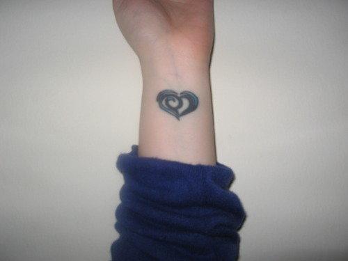 Wrist Love Tattoo Designs