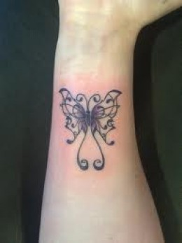 Butterfly Wrist Tattoo Design Ideas