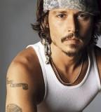 Johnny Depp Arm Tattoos Design Style