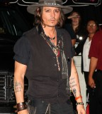 Johnny Depp Tattoo Design on Hands